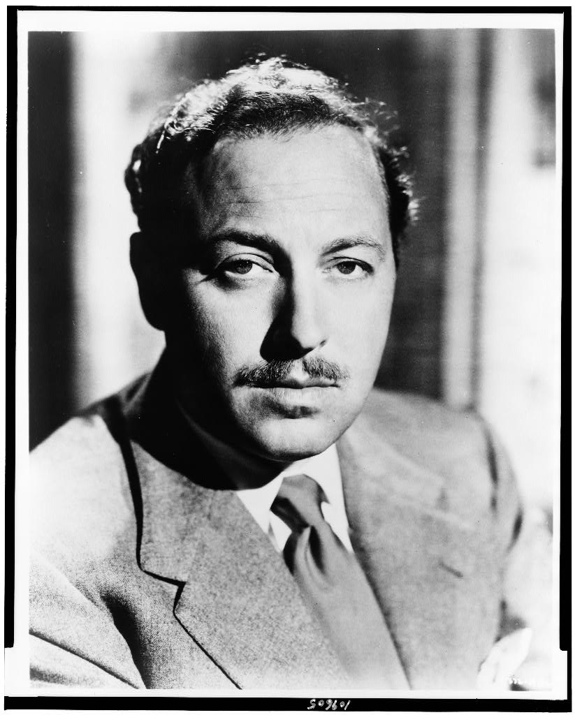 tennessee williams poetry