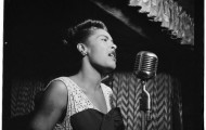 by William Gottlieb,  Billie Holiday, Downbeat, NYC, ca. Feb. 1947